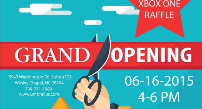 Umbrellus Grand Opening 06-16-2015